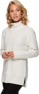 Active Women's Ultra Soft Quilted Cowl Neck Pullover Sweatshirt