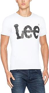 Lee 男式标志短袖 t 恤
