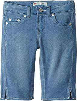 Levi's® Kids - 710™ Super Skinny Fit Soft and Silky Bermuda Shorts (Big Kids)