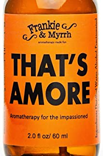That's Amore | Aphrodisiac Essential Oil Spray | Ylang Ylang, Patchouli, Jasmine, Vanilla Erotic Perfume/Cologne | Pure St...