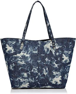 Rebecca Minkoff Unlined Medium Tie Dye Denim Tote Bag