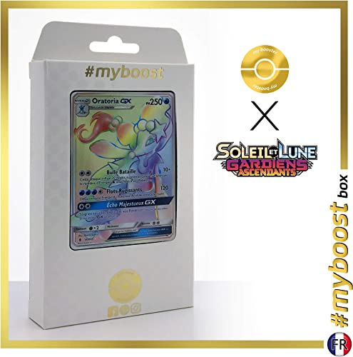 los nuevos estilos calientes Oratoria-GX Primarina-GX149 145 Arcoíris Arcoíris Arcoíris Secreta -  myboost X Soleil & Lune 2 Gardiens Ascendants - Box de 10 Cartas Pokémon Francés  ahorra hasta un 30-50% de descuento