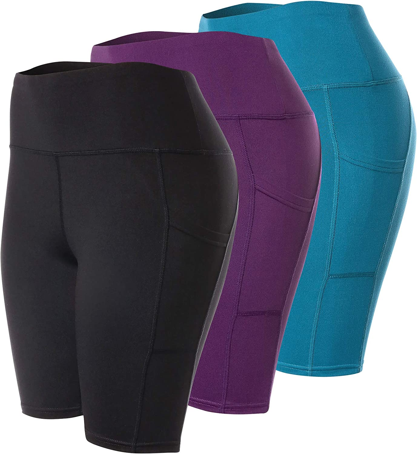Ranking TOP13 Complete Free Shipping VALINNA 3 Pack Shorts for Women Running Workout Yoga Tummy Bike