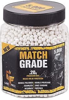 GameFace 20GPW5J 6.0mm Match Grade Airsoft BBS, White