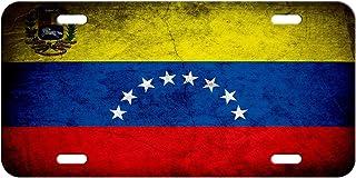 Best ExpressItBest High Grade Aluminum License Plate - Flag of Venezuela (Venezuelan) - Rustic Review