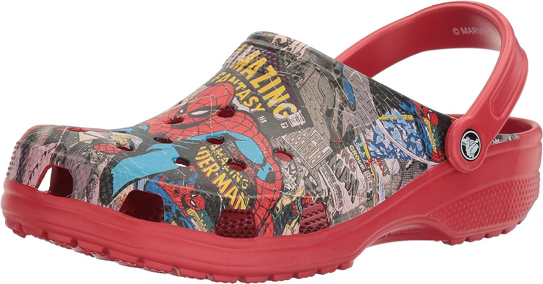 Crocs Unisex Classic Spiderman Clog Mule