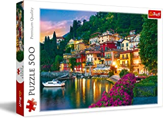 Trefl Lake Como In Italy Puzzle For Unisex- 500 Pieces