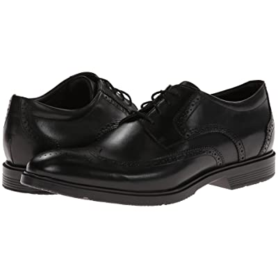 Rockport City Smart Wing Tip Oxford (Black) Men