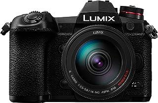 Panasonic Lumix G9H - Fotocamera ibrida Expert + obiettivo Lumix 14-140 mm (sensore 4/3 20 MP, doppio stab, mirino OLED, 4...