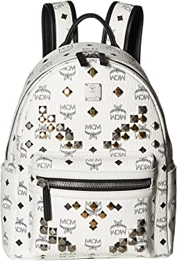 MCM Stark M Stud Small Backpack