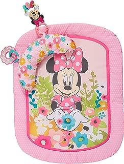 Disney Minnie Mouse Garden Party Tummy Time Prop Mat, Ages Newborn +