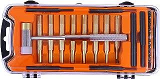 SPIKA Gunsmithing Tools Gun-Care Hammer and Brass Punch Set Gunsmith Punches Set Tool Accessories