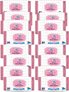 Cool & Cool Baby Wipes 80's - 10 + 6 Free