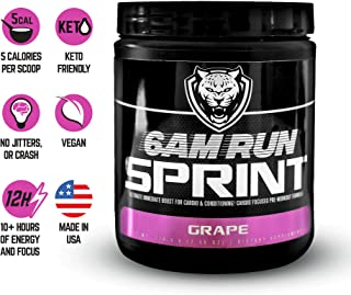 6AM Run - Pre Workout Supplement Pre Sprint Run - Amino Energy Grape - Pre Workout For Runners - Pre Workout Runners - Runners Supplements - Best Pre Workout Supplement For Running - 30 Scoops