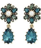 Marchesa - Post Double Drop Earrings