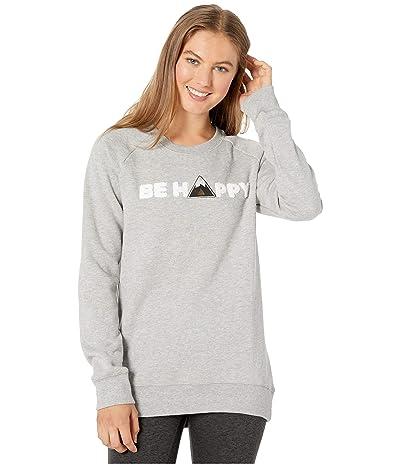 tentree Happy Crew (High-Rise Grey) Women