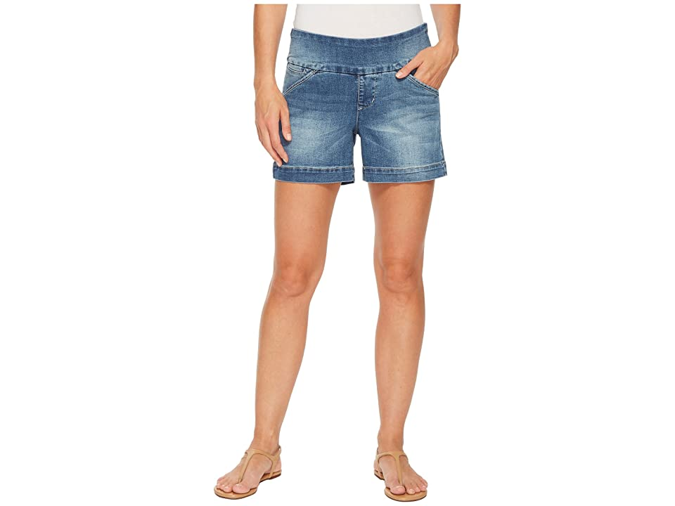 Jag Jeans Ainsley Pull-On 5 Denim Shorts in Horizon Blue (Horizon Blue) Women's Shorts