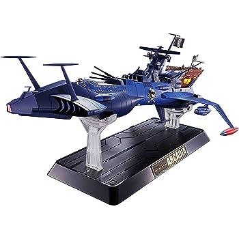 超合金魂 宇宙海賊キャプテンハーロック GX-93 宇宙海賊戦艦 アルカディア号 約430mm ダイキャスト・ABS・PVC製 塗装済み可動フィギュア