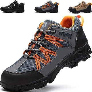 JACKSHIBO Chaussures de randonnée pour homme et femme - Chaussures de randonnée légères et respirantes - Chaussures basses...