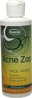 Acne Zap Facial Cleanser Wash for Sensitive Acne Prone Skin - 4.0 oz