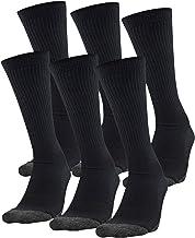 Under Armour Adult Performance Tech Crew Socks, 6-Pairs