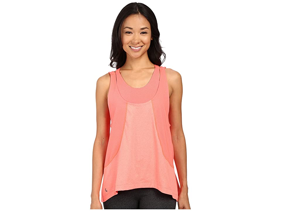 Lole Faylinn Tank Top (Fiery Coral Mix) Women
