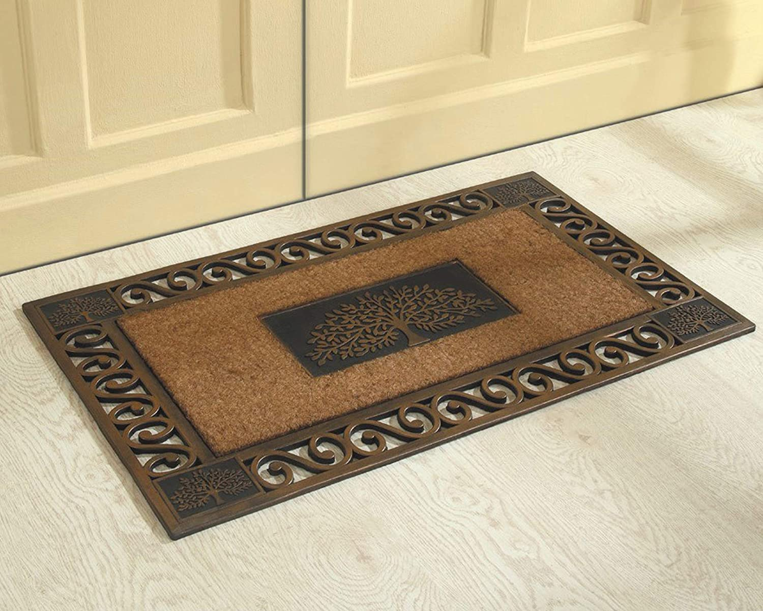 Better Trends Coir Washington Mall Door Mat is and Clean Easy Colorful Weekly update Strong to