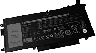 United Power Replacement Dell K5XWW Battery for Dell Latitude Latitude 5289 7389-7.6V 60Wh K5XWW