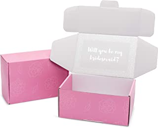 will you be my bridesmaid stickers for box