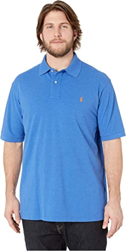 Big & Tall Basic Mesh Short Sleeve Custom Slim Fit Polo