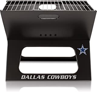 NFL Dallas Cowboys Portable Collapsible Charcoal X-Grill