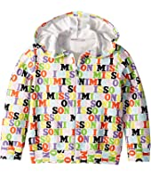 Missoni Kids - All Over Logo Hoodie (Toddler/Little Kids)