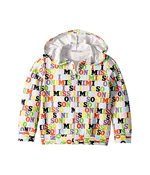 Missoni Kids All Over Logo Hoodie (Toddler/Little Kids)