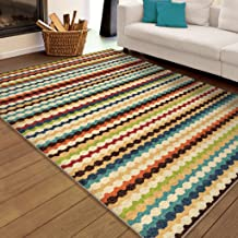 product image for Orian Rugs Transitional Promise Nik Nak Gemstone 6' X 9'