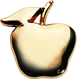 Gold Apple Teacher Appreciation Award Pins, 12 Pins