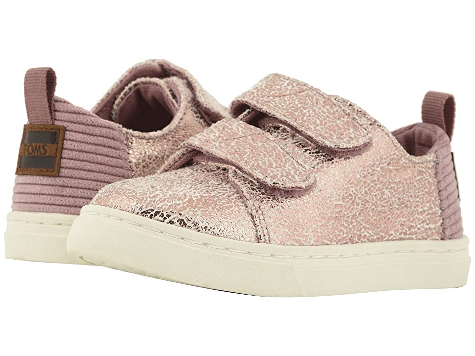 TOMS Kids Lenny (Infant/Toddler/Little Kid) (Lavender Crackle Foil/Corduroy) Girl
