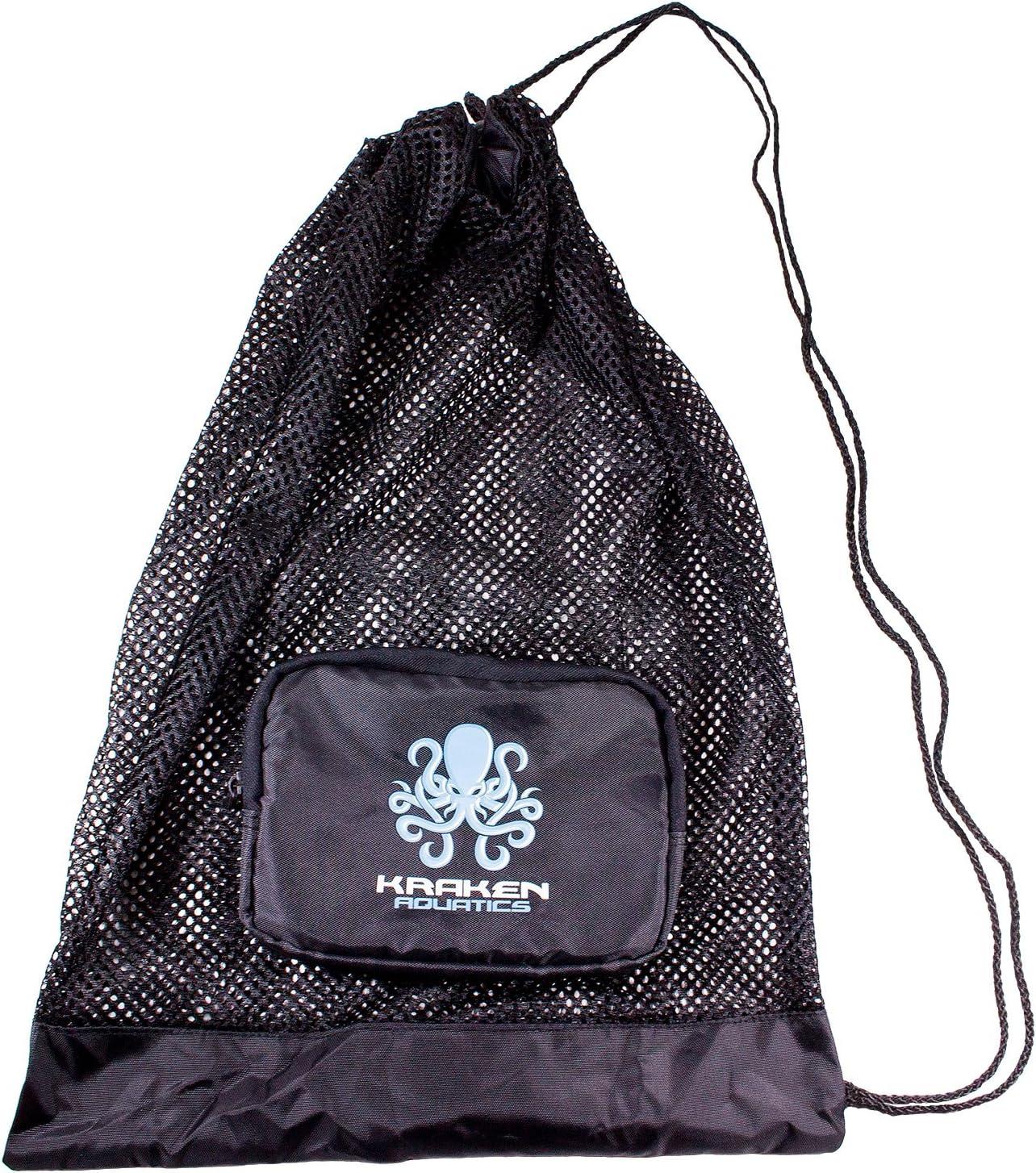 Kraken Aquatics Compact Mesh Gear Diving Manufacturer direct delivery Weekly update for Scuba Snorke Bag