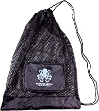 Kraken Aquatics Compact Mesh Gear Bag   for Scuba Diving, Snorkeling, Swimming, Beach and Sports Equipment