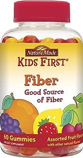 Nature Made Kids First Fiber Gummies, 60 Count
