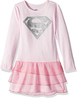 DC Comics Girls' Supergirl Sparkle Tutu Pajama Nightgown