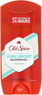 Old Spice High Endurance Pure Sport Scent Men's Deodorant 3 Oz (Pack of 3)