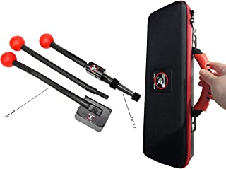 Total Golf Trainer 2.0 Show Kit - Golf Training Aids - Golf Swing Trainer - Teaches and Corrects Golf Swing, The Hanger Se...