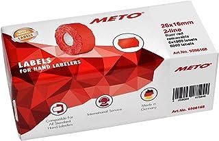 MIX 21 x 12 mm adesivo in carta colorata Prezzemarker etichette MX-5500 6 rotoli