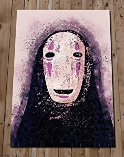 No Face Art Print - Studio Ghibli Spirited Away Poster - Studio Ghibli Art - Wall Art Home Decor - Anime - Gift Idea