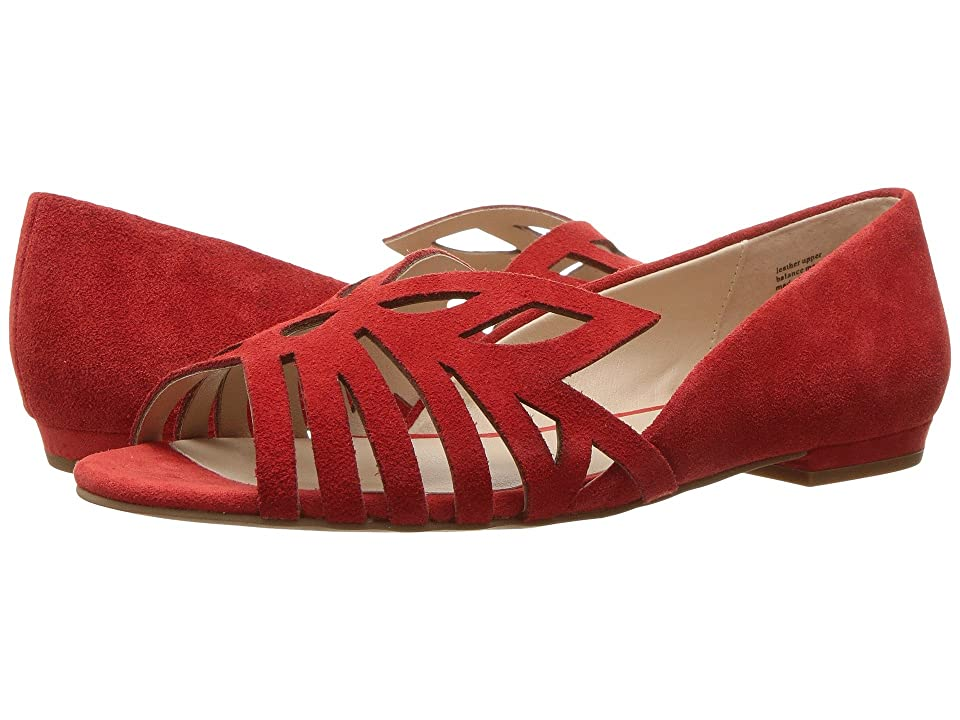 Seychelles Purrfect (Red Suede) Women
