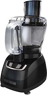Procesador de alimentos de 8 tazas Black+Decker, negro, FP1600B