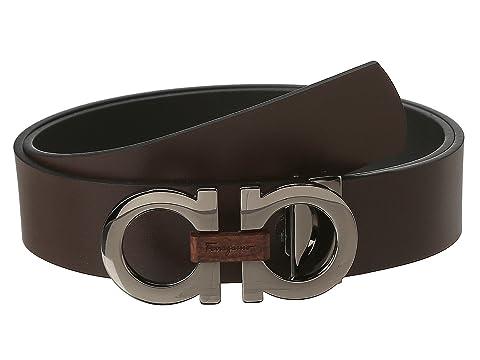c51692dd9 Salvatore Ferragamo Adjustable/Reversible Belt at Luxury.Zappos.com