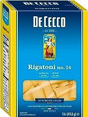 De Cecco Pasta, Rigatoni, 16 oz