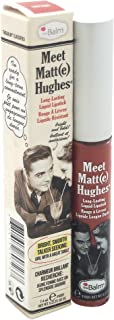 theBalm Meet Matt(e) Hughes Long Lasting Liquid Lipstick, Sincere, Lightweight Matte Finish, 0.25 Fl Oz