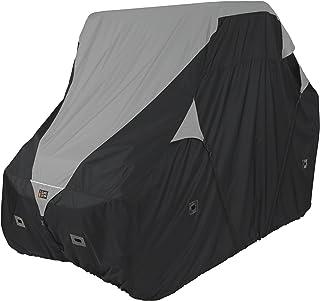 Classic Accessories QuadGear Black/Grey QuadGear UTV Deluxe Storage Cover (For Crew Cab UTVs Up To 150